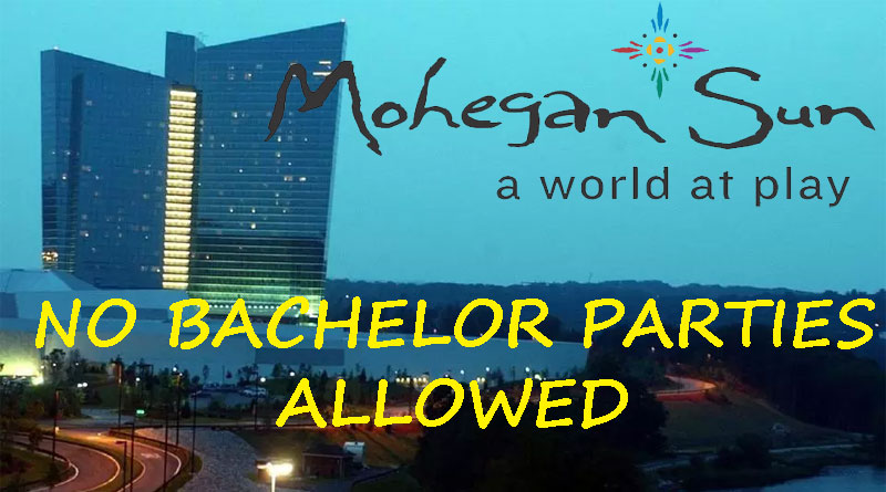 bachelor party at Mohegan Sun