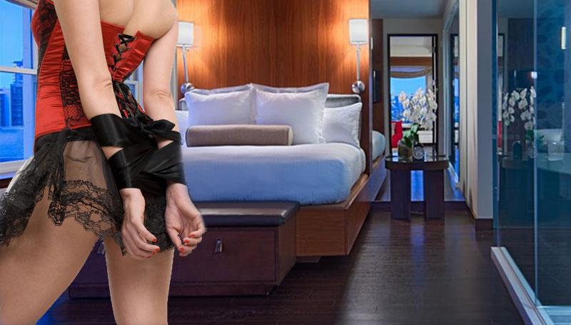 stripper tied up