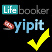 lifebooker and yipit logos