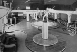 Inside Neros Nightclub, 1973