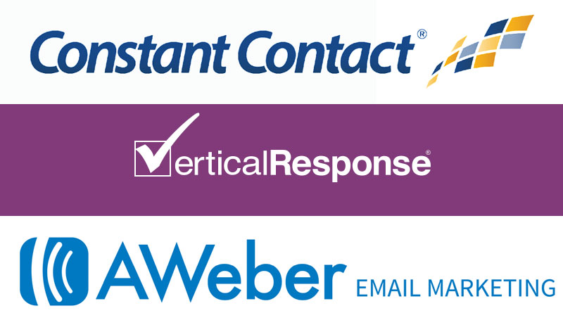 marketing esp comparison Constant Contact, Vertical Response and AWeber