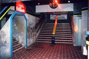 Neros staircase to main club