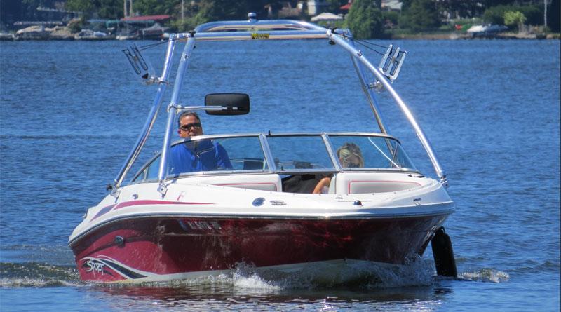 wakeboard boat lake mohawk