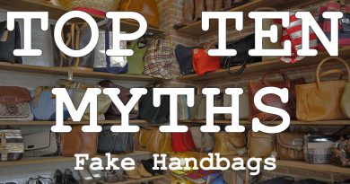top ten myths fake handbags