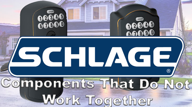 schlage lockset compatible problems
