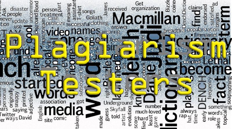 plagiarism testers top ten testers