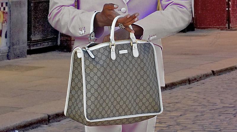 Fake Gucci handbag