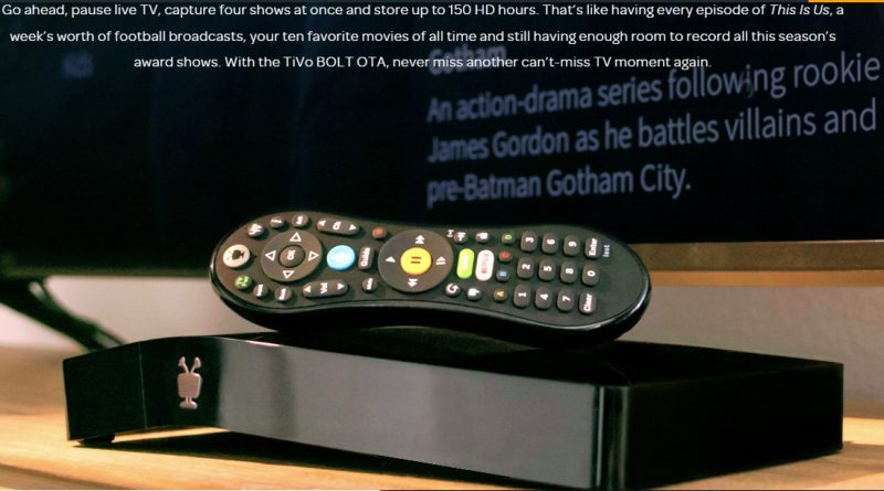 Tivo Bolt 2019 review