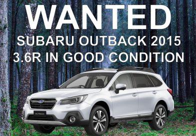 WANTED: Subaru Outback 2015 3.6R