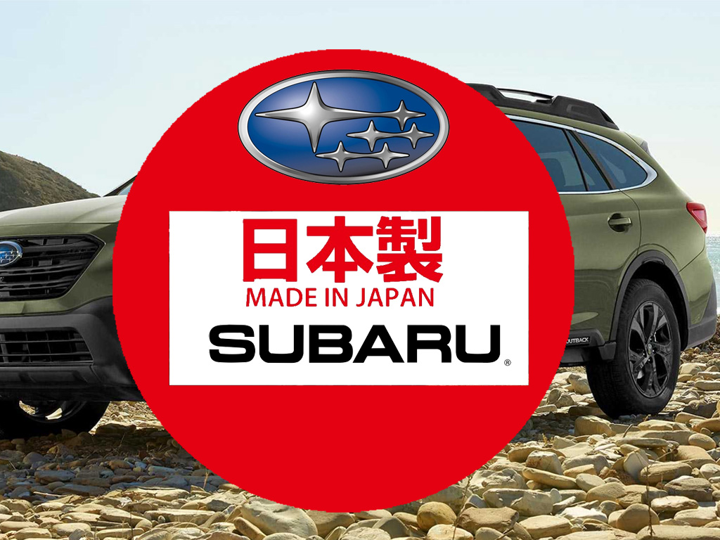 Subaru Outback made in Japan