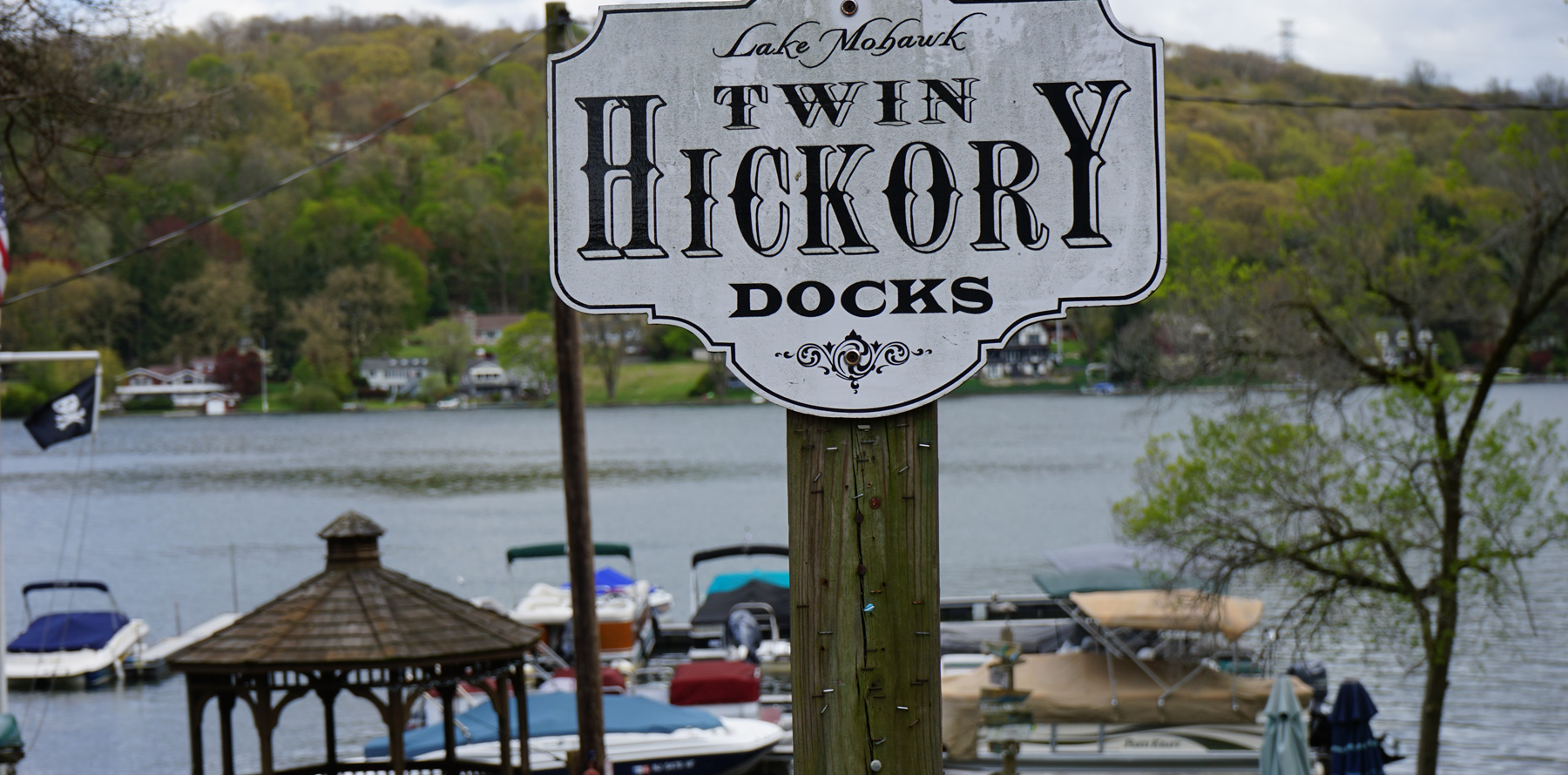 Twin Hickory Docks at Lake Mohawk NJ